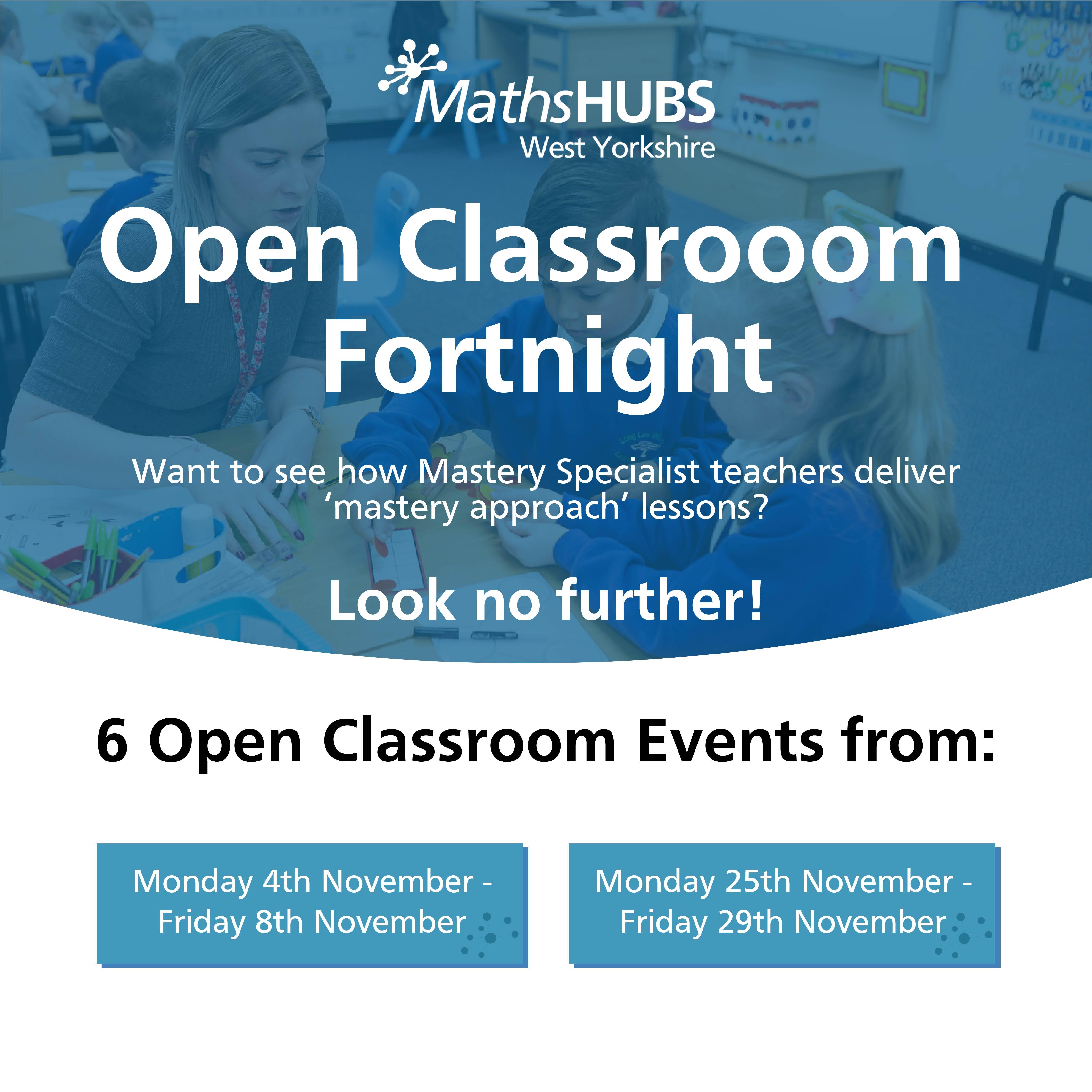 open classroom fortnight